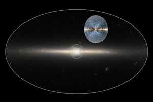 Wise Observatory shot of Milky Way's Circled X, taken from web