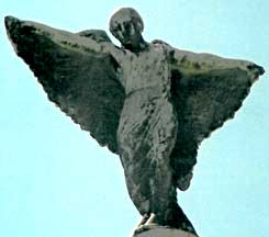 Icarus-like image spotted and shot in Rio by Jim McPherson, 2007; link goes to VAM Entity entry