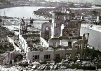 Hiroshima A-Bomb Dome, image taken from web