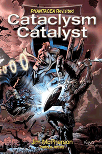 Front cover for Cataclysm Catalyst, artwork by Verne Andru, 2013