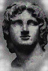 [IMAGE OF ALEXANDER OF MACEDONIA, TAKEN FROM THE WEB]