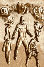 Figures prepared for back cover of Helmoon, art by Ricardo Saandoval, 2014