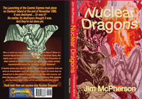 Publisher's pastiche for artist, dragons by Ian Bateson